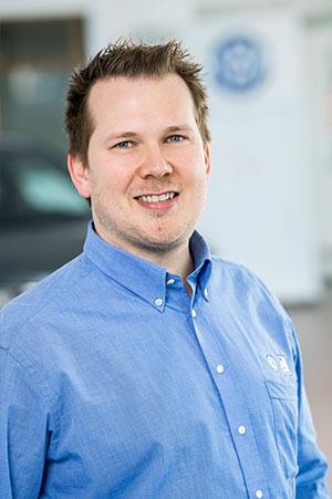 Benjamin Sprenger – Serviceberater Volkswagen